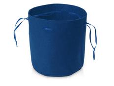 Чехол из войлока, синий фото