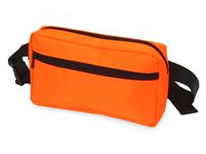 Сумка на пояс на молнии Flossy, оранжевая фото