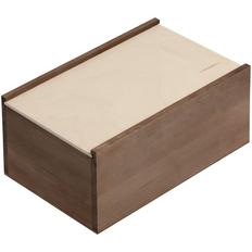 Деревянный ящик Boxy, малый, тонированный фото
