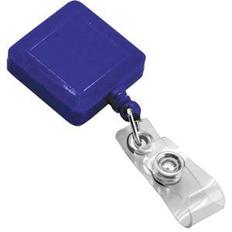 Держатель для бейджа, магнитной карты, синий фото