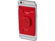 Держатель для мобильного телефона Purse с бумажником, красный фото
