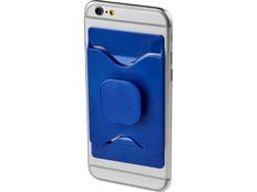 Держатель для мобильного телефона Purse с бумажником, синий фото