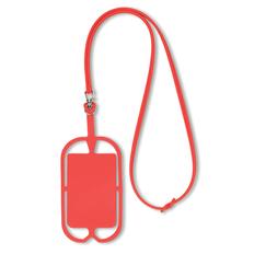 Держатель для телефона на шнурке, красный фото