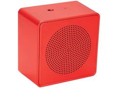 Динамик беспроводной Whammo Bluetooth, красный фото