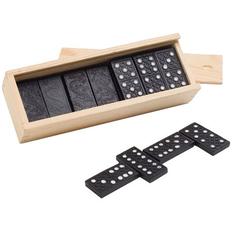Домино Spieler ver.1, черное / белое фото