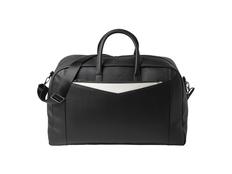 Дорожная сумка Cosmo, чёрно-белая фото