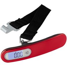 Дорожные весы onBoard Soft Touch, красные фото