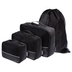 Дорожный набор сумок noJumble 4 в 1, черный фото