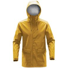 Дождевик на кнопках с капюшоном мужской Stormtech Squall, желтый фото