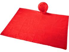 Дождевик в чехле Paulus, красный фото