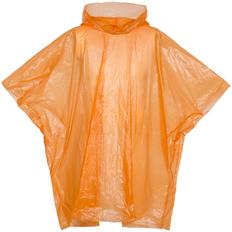 Дождевик-пончо с капюшоном и укороченным рукавом унисекс Molti RainProof, оранжевый фото
