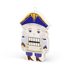 Елочная игрушка «Щелкунчик» v.2.0 в пенале, разноцветная фото