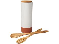 Емкость для пасты Terracotta, белый/оранжевый/бежевый фото