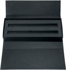 Футляр для ручки из картона с магнитным замком Senator, черный фото
