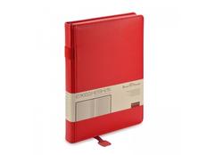 Ежедневник недатированный А5 Polo, красный фото