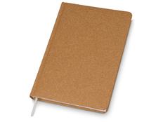 Ежедневник недатированный Lettertone Raw AR А5, коричневый фото