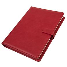 Ежедневник недатированный Coach, формат B5, в подарочной коробке, бордо фото