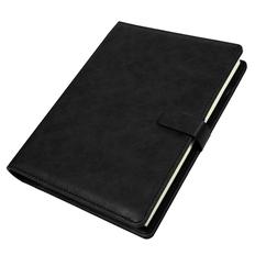 Ежедневник недатированный Coach, формат B5, в подарочной коробке, черный фото