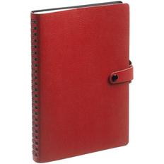 Ежедневник недатированный Контекст Strep А5, красный фото