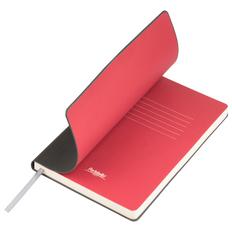 Ежедневник недатированный Portobello Trend Sky, серый / красный фото