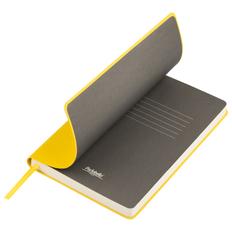 Ежедневник недатированный Portobello Trend Sky, желтый/ серый фото