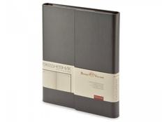 Ежедневник недатированный с магнитным клапаном А5 Waltz, серый фото