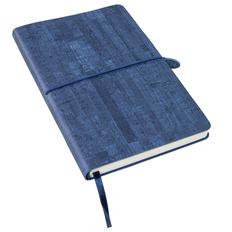 Ежедневник недатированный Enote Woody А5, темно-синий фото