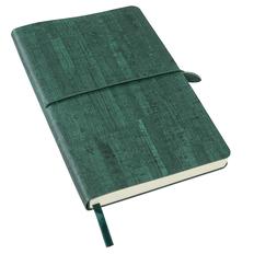Ежедневник недатированный Enote Woody А5, темно-зеленый фото