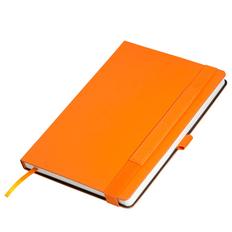 Ежедневник недатированный Portobello Trend Alpha, оранжевый/ коричневый фото