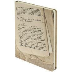 Блокнот нелинованный Inspire Рукописи, бежевый фото