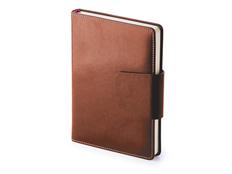 Ежедневник недатированный А5 Prestige, коричневый фото