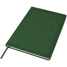 Ежедневник недатированный Bliss, А4, белый блок, без обреза, темно-зеленый фото