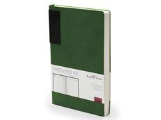 Ежедневникнедатированный Bruno Visconti London А5, зеленый / черный фото