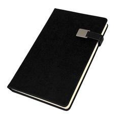 Ежедневник недатированный Linnie, формат А5, черный фото