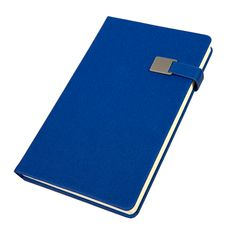 Ежедневник недатированный Linnie, формат А5, синий фото