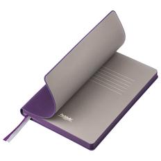 Ежедневник недатированный Portobello Trend Rain, фиолетовый/ бежевый фото