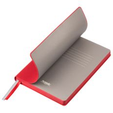 Ежедневник недатированный Portobello Trend Rain, красный/ бежевый фото