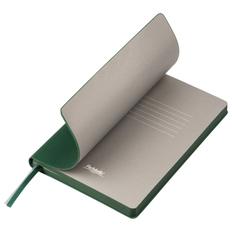 Ежедневник недатированный Portobello Trend Rain, зеленый/ серый фото