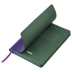 Ежедневник недатированный Portobello Trend River Side, фиолетовый / зеленый фото
