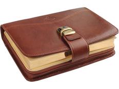 Ежедневник датированный Giulio Barсa Имперский, коричневый фото