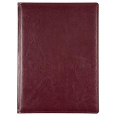 Еженедельник датированный Адъютант Nebraska, бордовый фото