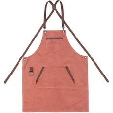 Фартук Craft, красно-розовый фото