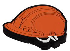 Флеш-карта Каска, 8 Гб, оранжевая фото