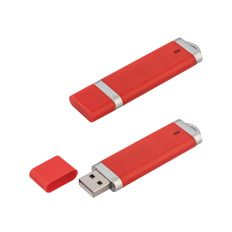 Флеш-карта USB 8GB Абсолют, красный фото