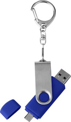 Флешка Double Twist 8 Гб синяя, синий фото