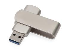 Флешка металлическая 16 Гб Setup, USB 3.0, серебристая фото