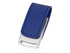 Флешка металлическая с магнитным замком 16Гб Vigo, синяя / серебристая фото
