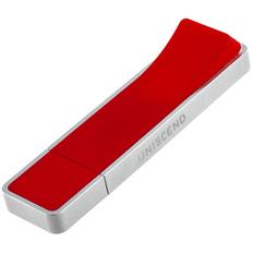 Флешка Uniscend Hillside, красная, 8 Гб фото