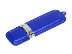 Флешка USB 3.0 на 32 Гб классической прямоугольной формы, синяя фото