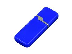 Флешка USB 3.0 на 32 Гб с оригинальным колпачком, синяя фото